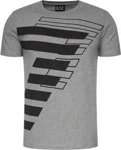 T-shirt EA7 Emporio Armani z krótkim rękawem z nadrukiem