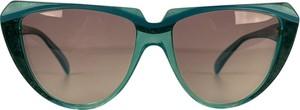 Niebieskie okulary damskie Yves Saint Laurent