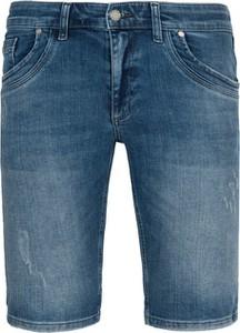 Niebieskie spodenki MEXX z jeansu