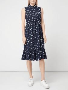 Granatowa sukienka Pieces