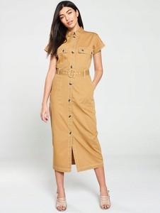 Sukienka V by Very z krótkim rękawem koszulowa