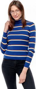 Granatowy sweter Wrangler