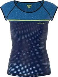 Bluzka Smmash z tkaniny z okrągłym dekoltem