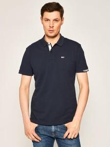 Koszulka polo Tommy Jeans z krótkim rękawem