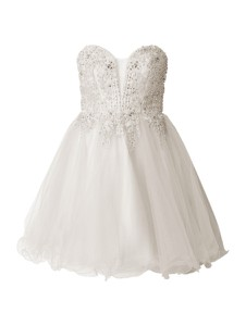 Sukienka Laona mini gorsetowa bez rękawów