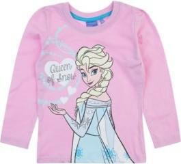 Różowa bluzka dziecięca Txm.pl z długim rękawem