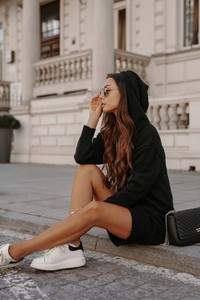 Czarna sukienka Lemoniade z bawełny