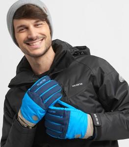 Niebieskie rękawiczki Iguana