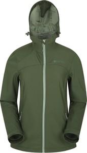 Zielona kurtka Mountain Warehouse krótka w stylu casual