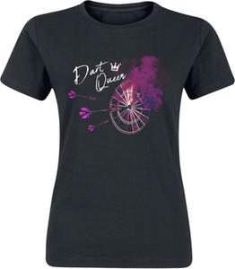 Czarny t-shirt Emp z bawełny z nadrukiem