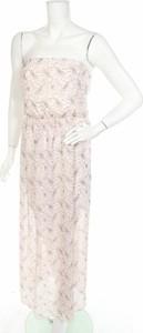 Sukienka CLOCKHOUSE bez rękawów maxi z okrągłym dekoltem