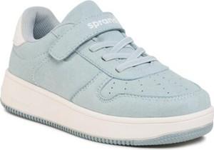 Niebieskie buty sportowe dziecięce Sprandi
