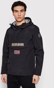 Czarna kurtka Napapijri w sportowym stylu