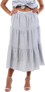 Niebieska spódnica Michael Kors