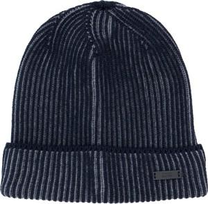 Granatowa czapka Boss