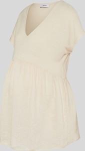 YESSICA C&A T-shirt ciążowy, Biały, Rozmiar: XS