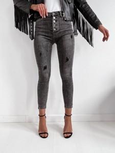 Jeansy Infinityfashion.pl w stylu casual z bawełny