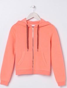 Pomarańczowa bluza Sinsay krótka