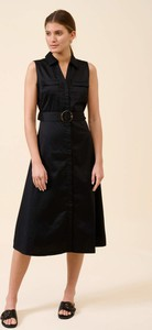 Sukienka ORSAY z dekoltem w kształcie litery v midi z tkaniny