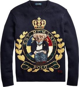 Sweter POLO RALPH LAUREN z nadrukiem z dżerseju