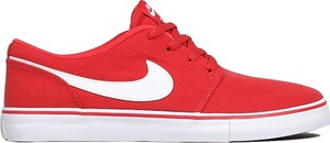Czerwone trampki Nike sb
