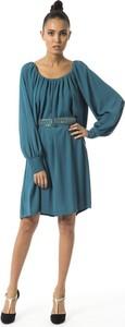 Niebieska sukienka Byblos