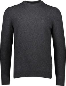 Czarny sweter Marc O'Polo z okrągłym dekoltem z wełny