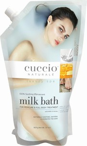 Cuccio Naturale Mleko do kąpieli miód i mleko 907 g