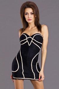 Sukienka TAGLESS bez rękawów gorsetowa