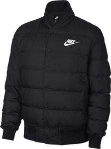 Czarna kurtka Nike w stylu retro