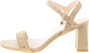 Sandały Prima Moda z klamrami na obcasie