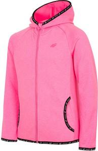 Różowa bluza dziecięca 4F