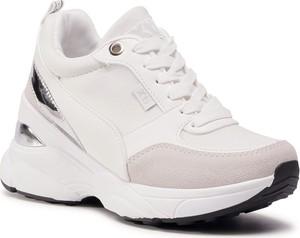 Buty sportowe eobuwie.pl sznurowane na platformie