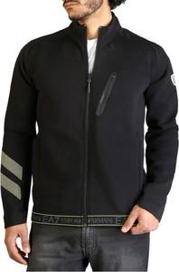 Czarny sweter Emporio Armani z bawełny