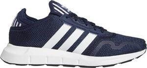 Granatowe buty sportowe dziecięce Adidas dla chłopców