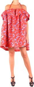 Czerwona sukienka MSGM mini