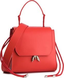 Czerwony plecak Patrizia Pepe