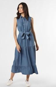 Niebieska sukienka More & More