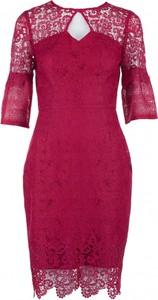 Sukienka VISSAVI z krótkim rękawem ołówkowa