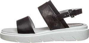 Sandały Geox z klamrami z płaską podeszwą w stylu casual
