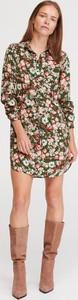 Sukienka Reserved w stylu casual mini szmizjerka