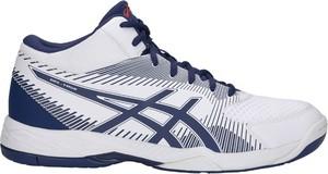 Buty sportowe ASICS ze skóry ekologicznej sznurowane w sportowym stylu