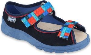 Buty dziecięce letnie Befado na rzepy dla chłopców