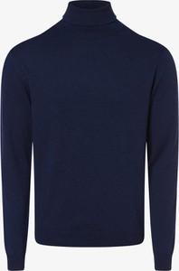Niebieski sweter Finshley & Harding w stylu casual