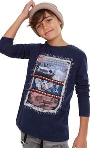 Niebieska koszulka dziecięca Desigual