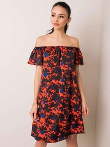 Sukienka Forever Pink z krótkim rękawem