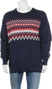 Niebieski sweter Old Navy w młodzieżowym stylu