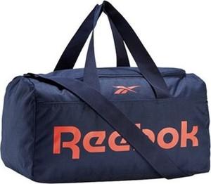 Granatowa torba sportowa Reebok
