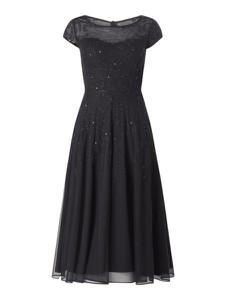 Sukienka Vera Mont maxi z okrągłym dekoltem z krótkim rękawem