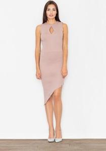 Sukienka Figl asymetryczna midi